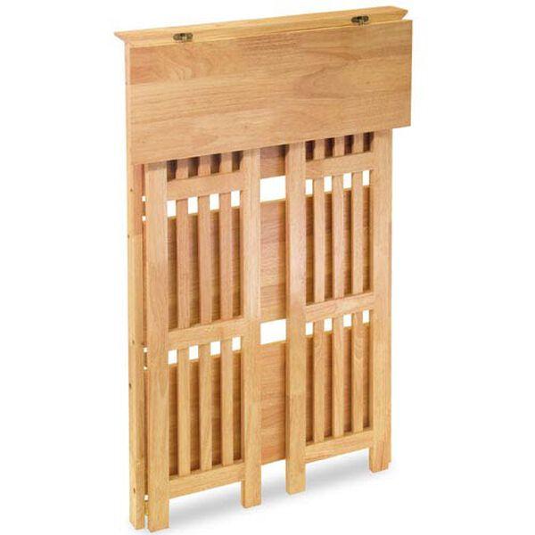 Four-Tier Foldable Wooden Shelf, image 2