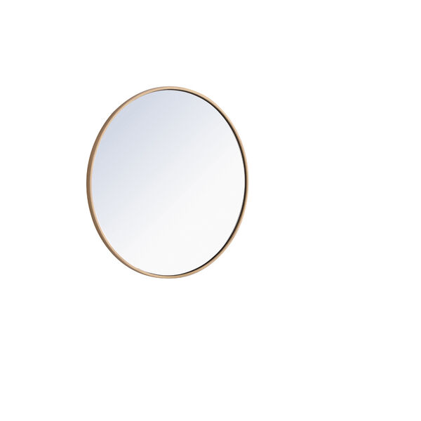 Eternity Round Mirror with Metal Frame, image 5