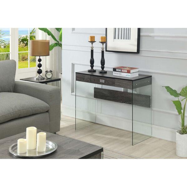 SoHo Weathered Gray Glass 36-Inch Desk, image 3