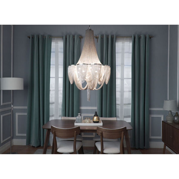 Chantilly Ten-Light Chandelier, image 2