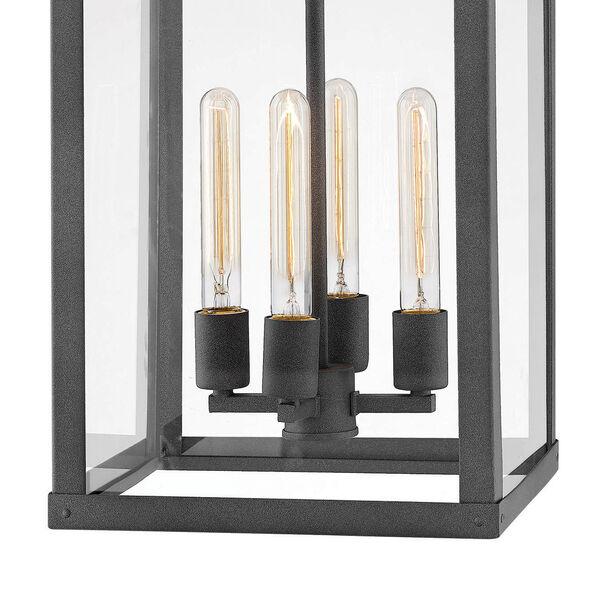 Porter Aged Zinc Four-Light Outdoor Pendant, image 3