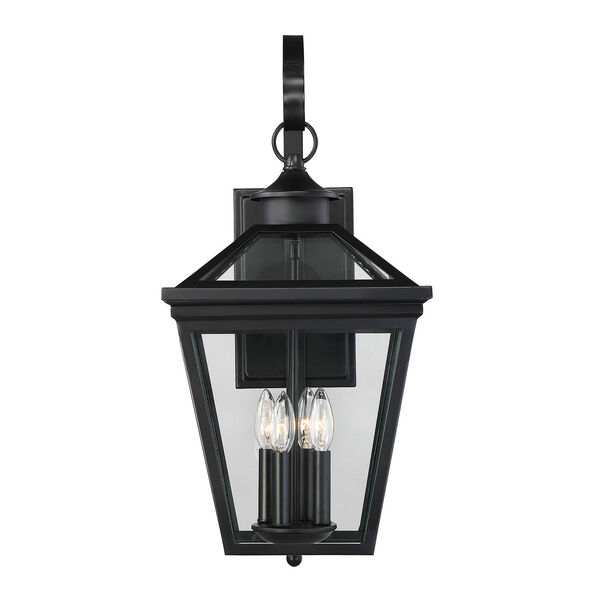 Kenwood Black Four-Light Outdoor Wall Sconce, image 1