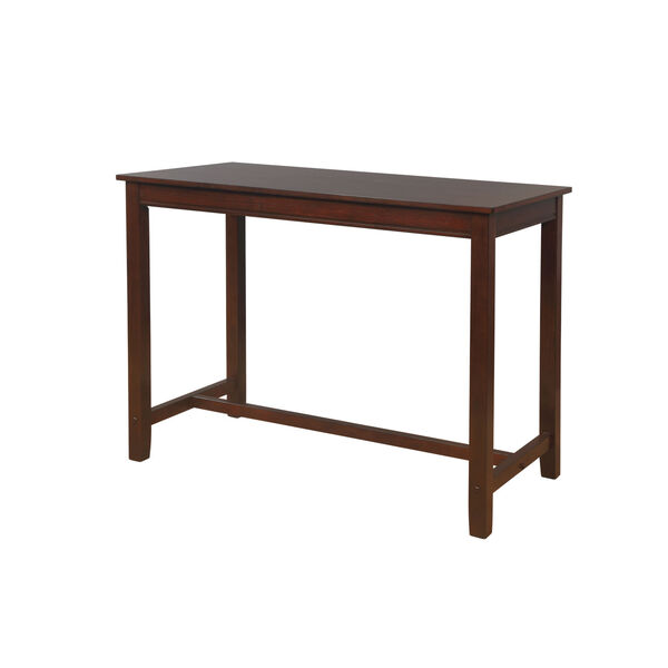 Ian Espresso Brown 36-Inch Counter Height Pub Table, image 2
