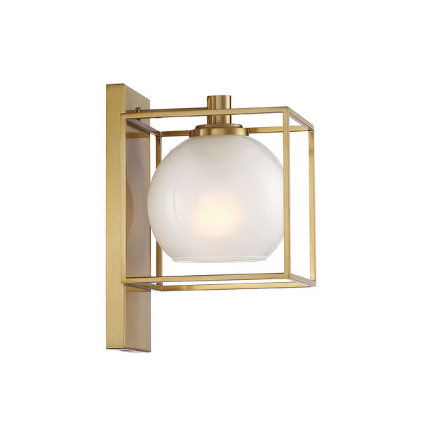 Cowen Brushed Gold One-Light Wall Sconce, image 4