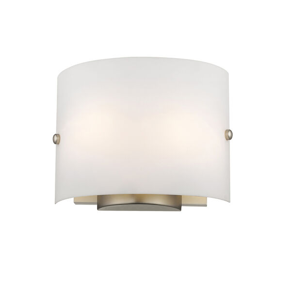 Brushed Nickel Two Light 8.75-Inch Wall Sconce, image 5
