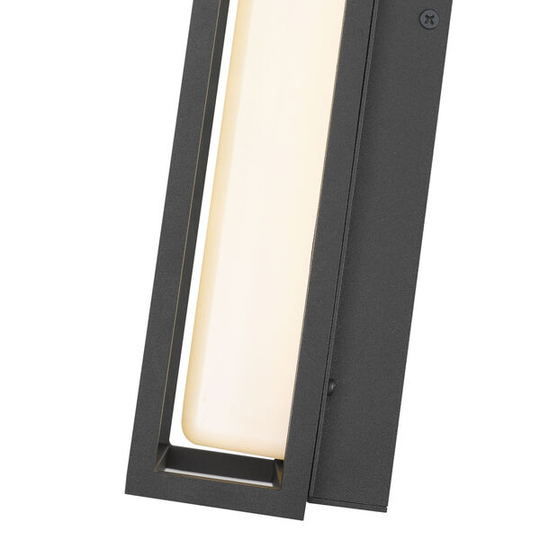 Baden Black 13-Inch LED Outdoor Wall Sconce, image 6