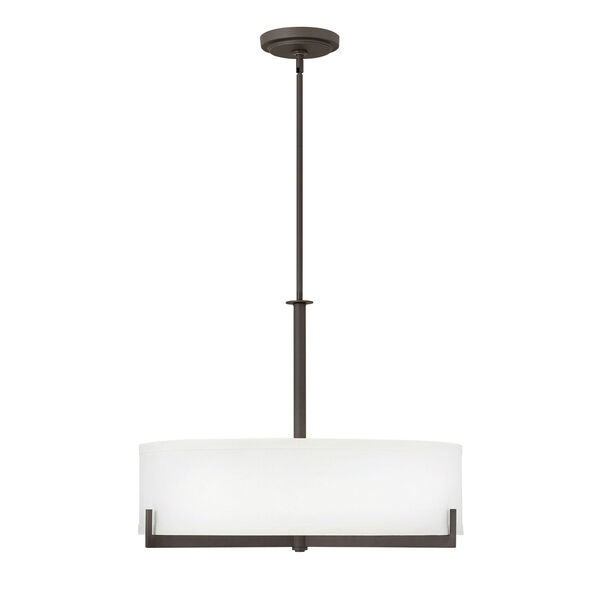 Hayes Oil Rubbed Bronze Four-Light Chandelier, image 1