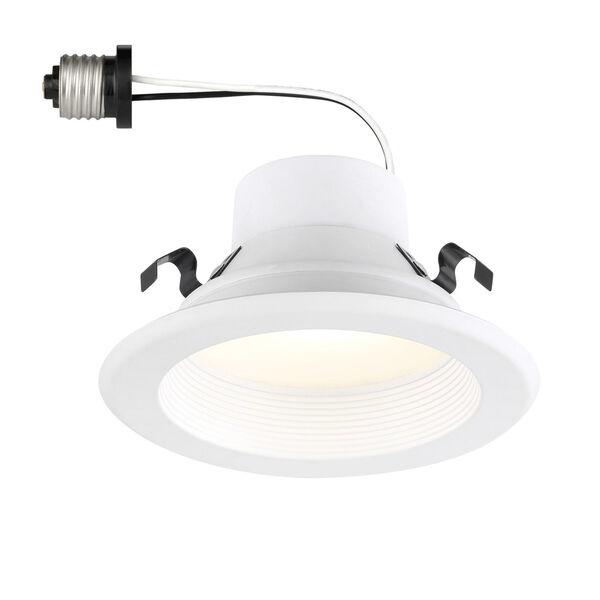 White 8W 3000K 560 Lumen LED Recessed Light, image 1
