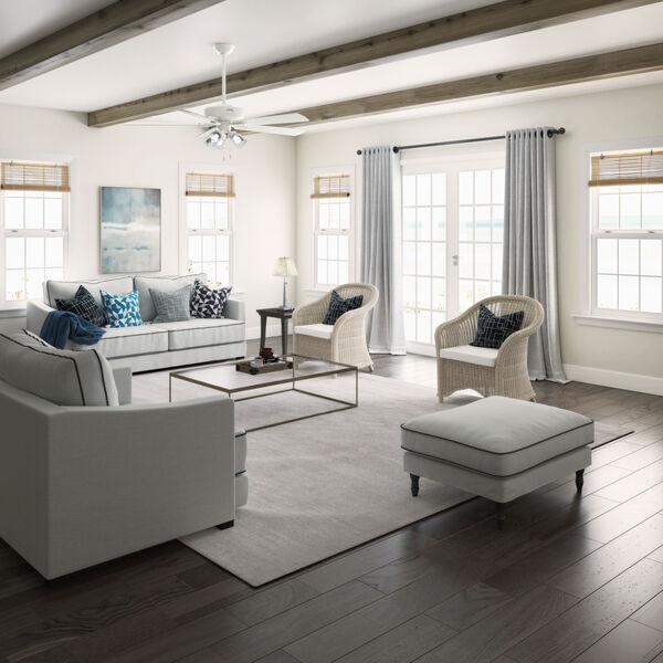 Crestfield Fresh White 60-Inch LED Ceiling Fan, image 6