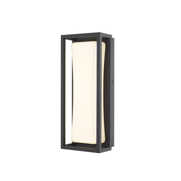 Baden Black 13-Inch LED Outdoor Wall Sconce, image 1