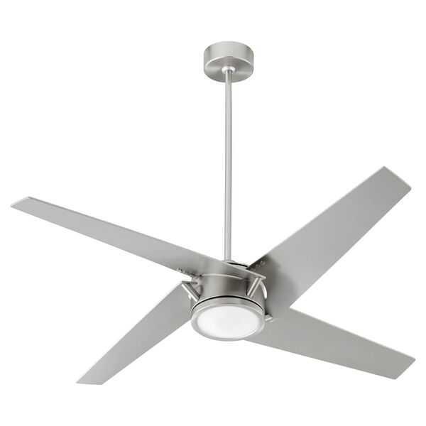 Axis Satin Nickel 54-Inch LED Ceiling Fan, image 1