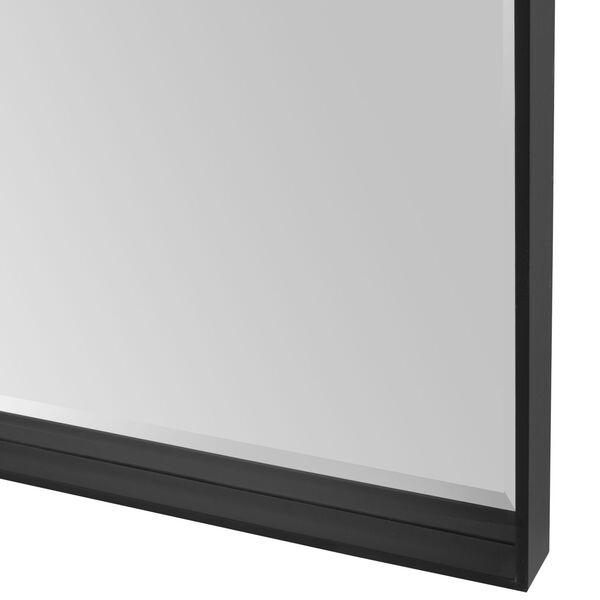 Kahn Black Rectangular Mirror, image 5