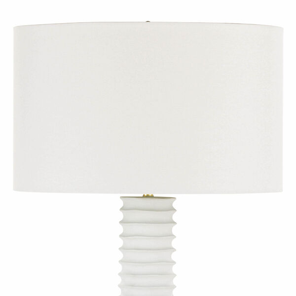 Nabu White One-Light Floor Lamp, image 2
