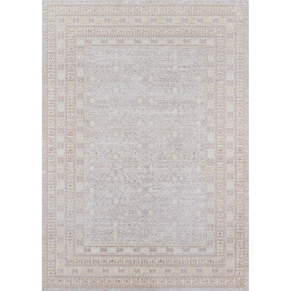 Isabella Tribal Gray Rectangular: 9 Ft. 3 In. x 11 Ft. 10 In. Rug, image 1