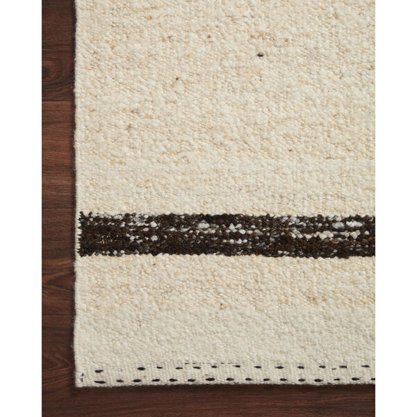 Roman Natural and Black Area Rug, image 5