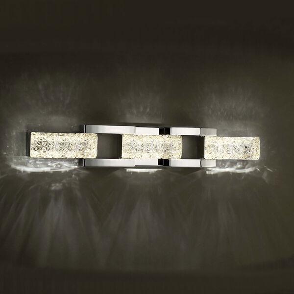 Sofia Polished Nickel 30-Inch LED Bath Light, image 3
