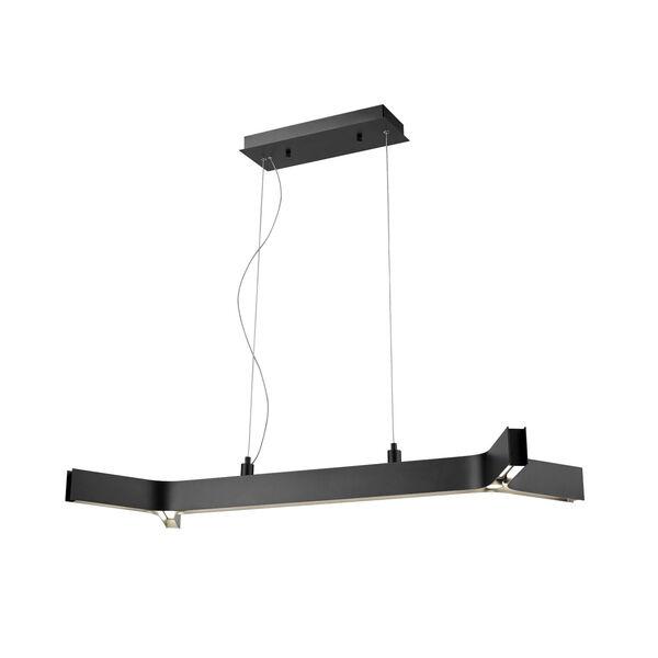 Arcano Matte Black Five-Light LED Pendant, image 1