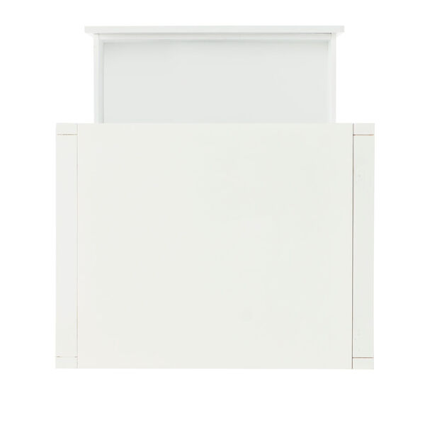 Max White End Table, image 3