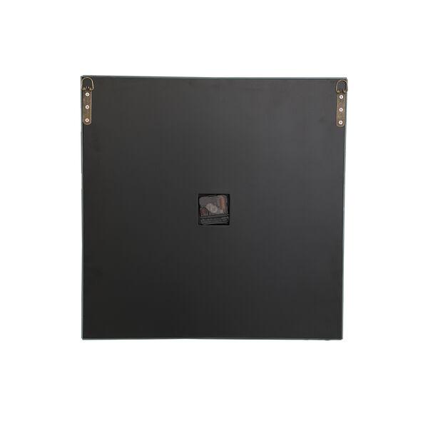 Modern Mirrored 10-Inch Crystal Wall Clock, image 6