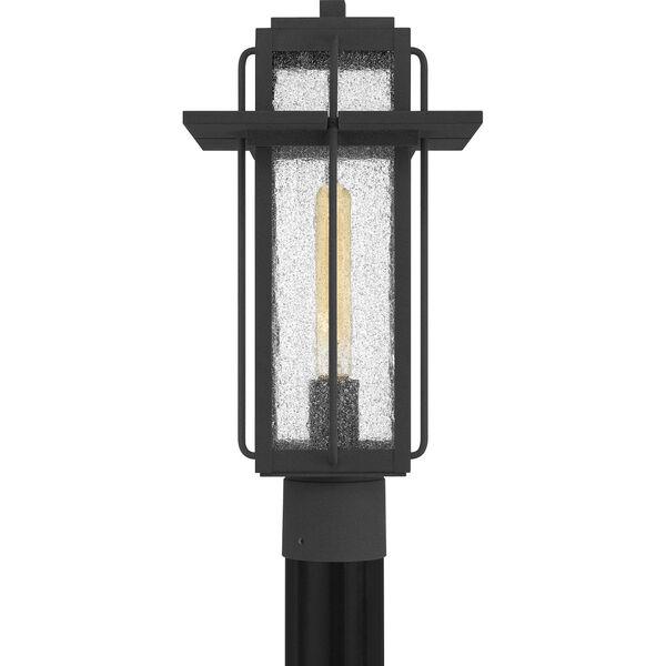 Randall Mottled Black One-Light Outdoor Post Mount, image 3