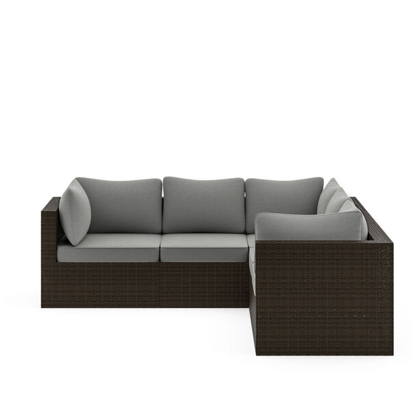 Cape Shores Brown Three-Piece Patio Sectional Set, image 6