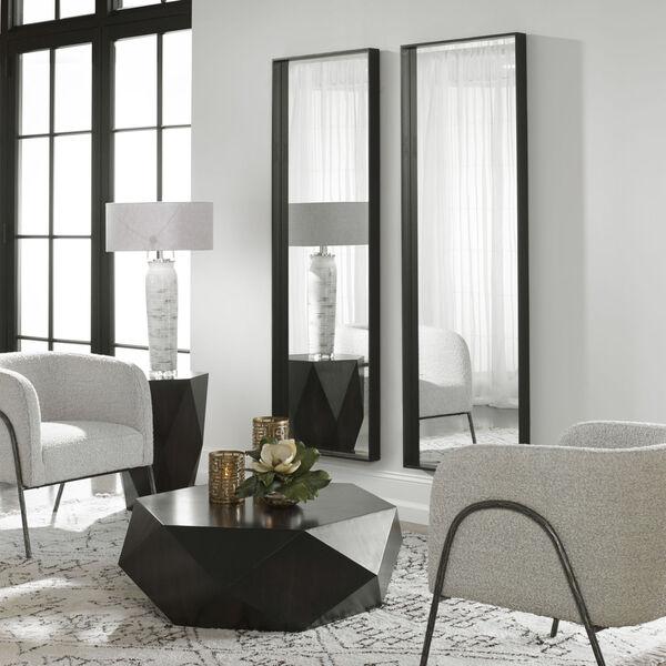 Kahn Black Rectangular Mirror, image 3