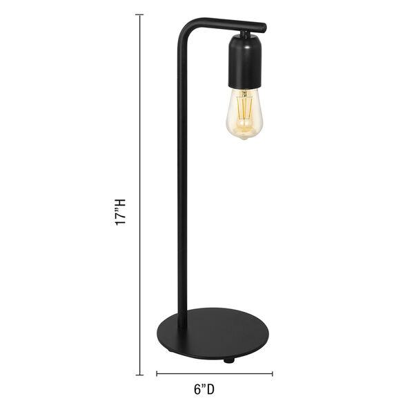 Adri Black One-Light Table Lamp, image 3