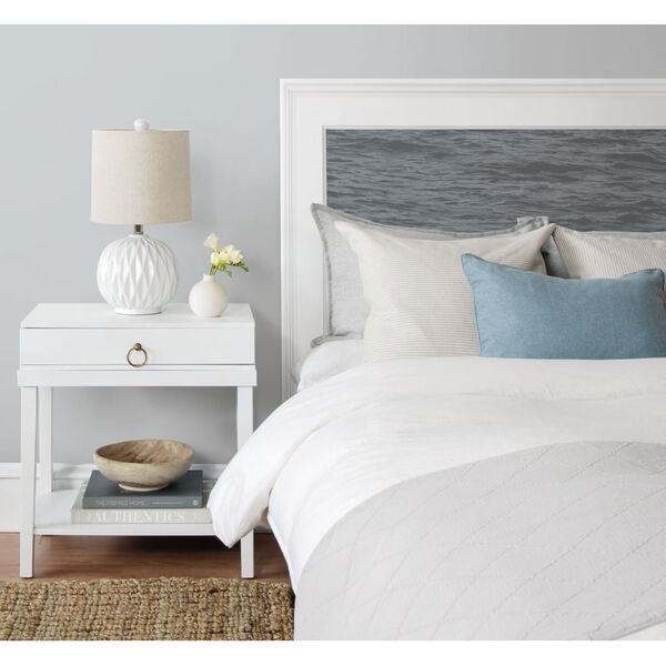NextWall Gray Serene Sea Peel and Stick Wallpaper, image 5