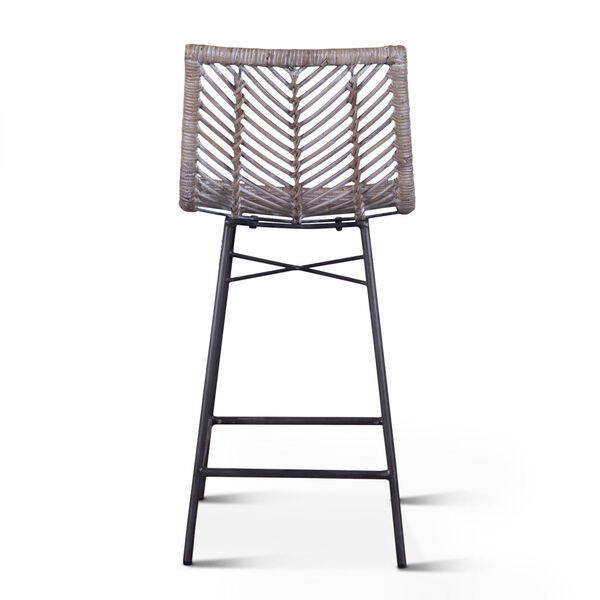 Bali Gray Whitewash Counter Chair, Set of 2, image 5