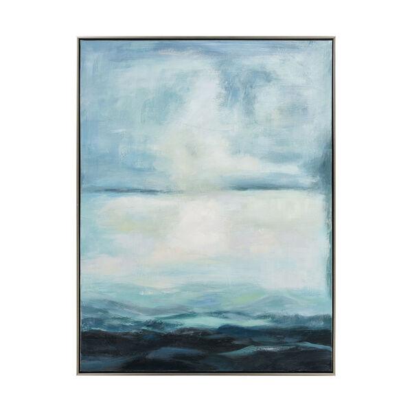 Acrylic Blue Open Horizon Wall Art, image 1