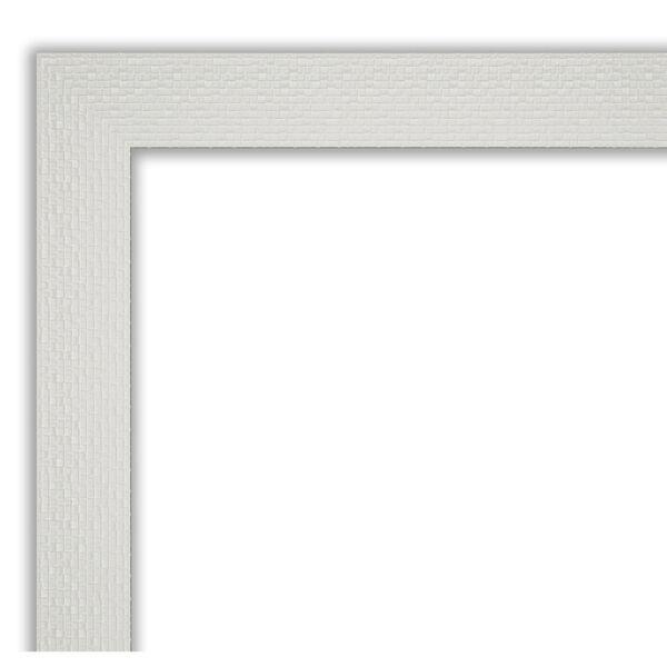 Mosaic White 40W X 28H-Inch Bathroom Vanity Wall Mirror, image 2