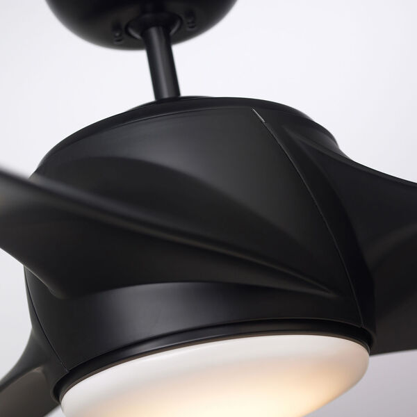 Luray Eco Barbeque Black 60-Inch LED Ceiling Fan, image 6