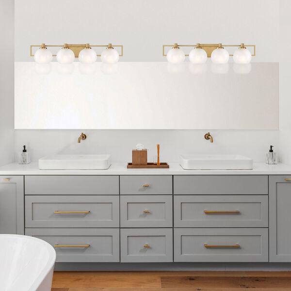 Cowen Brushed Gold Four-Light Bath Vanity, image 2
