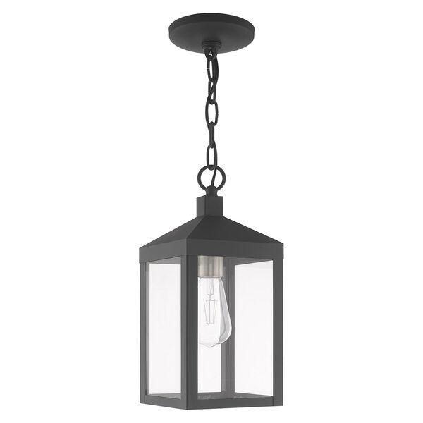 Nyack Gray Pendant Lantern, image 2