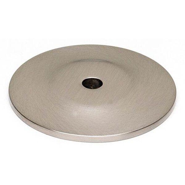 Satin Nickel 1 1/4-Inch Backplate, image 1