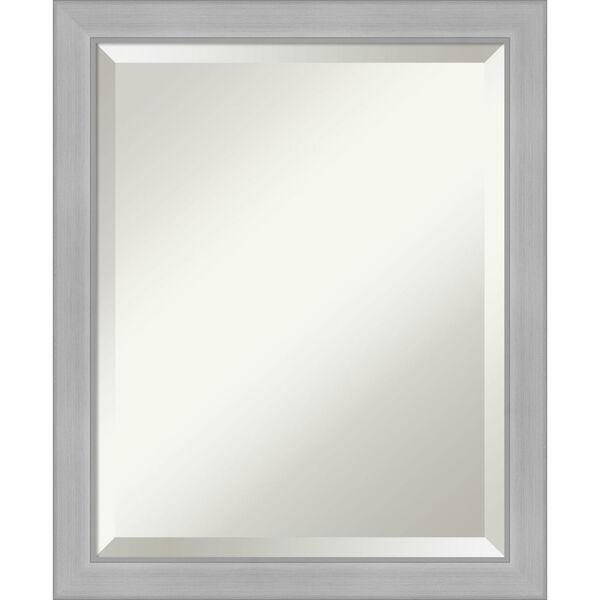 Vista Brushed Nickel 19W X 23H-Inch Bathroom Vanity Wall Mirror, image 1