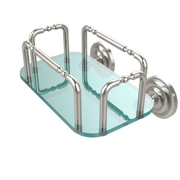 Que New Wall Mounted Guest Towel Holder, Polished Nickel, image 1