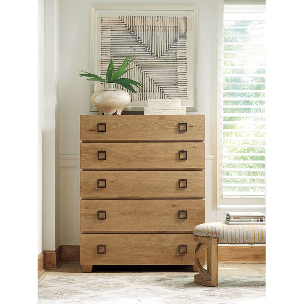 Los Altos Brown Carnaby Drawer Chest, image 2