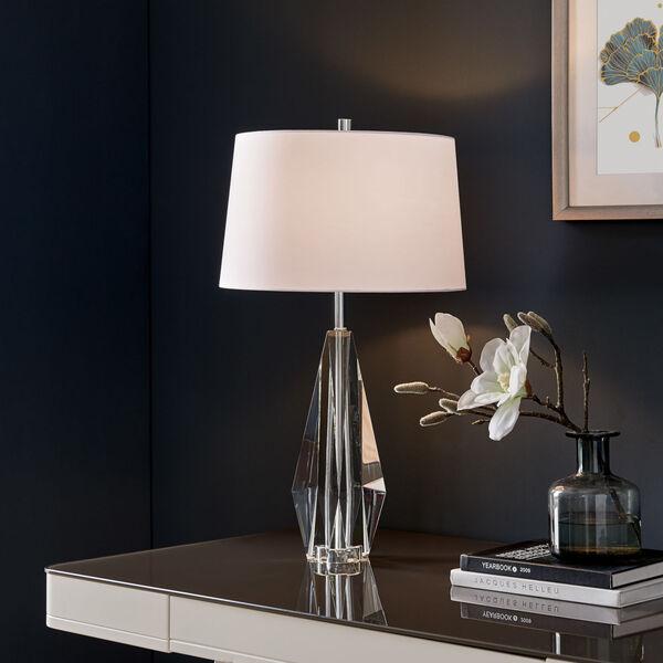 Callum Crystal White One-Light Table Lamp, image 3