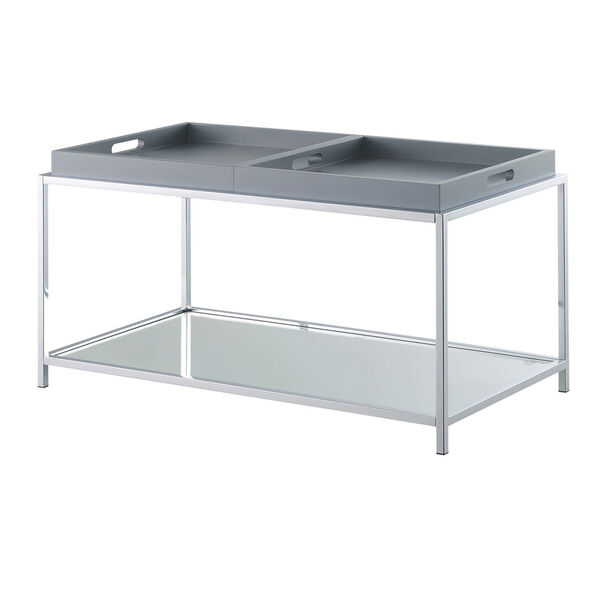 Palm Beach Gray Accent Coffee Table, image 3
