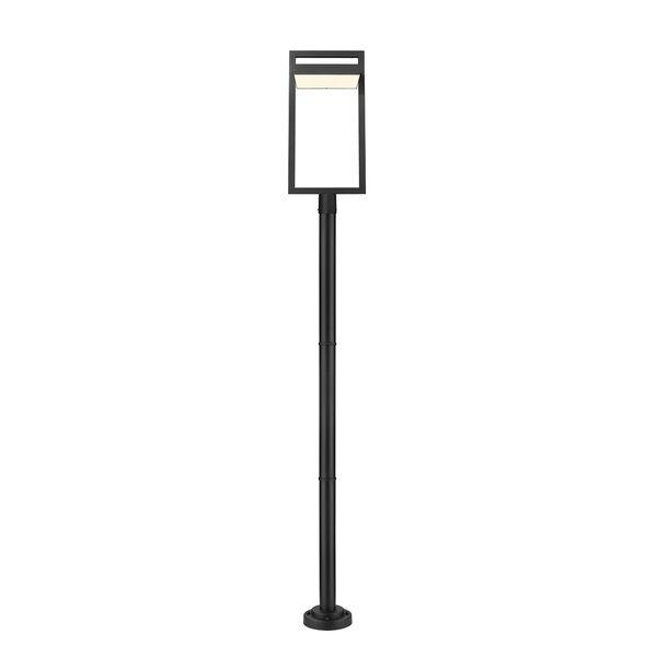 Luttrel Black 104-Inch One-Light LED Outdoor Post Mount, image 4
