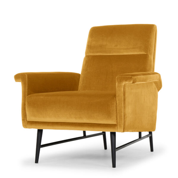 Mathise Mustard and Black Occasional Chair, image 1