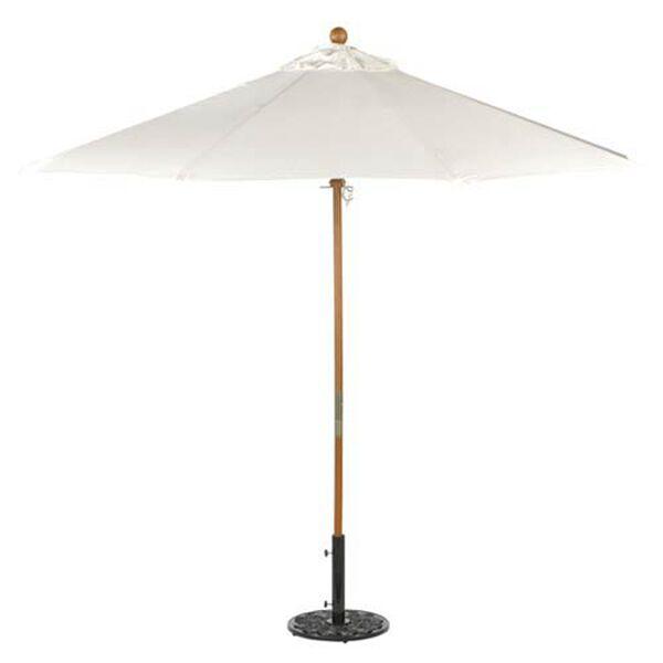 9-Ft. Natural Octagonal Sunbrella Market Umbrella, image 1