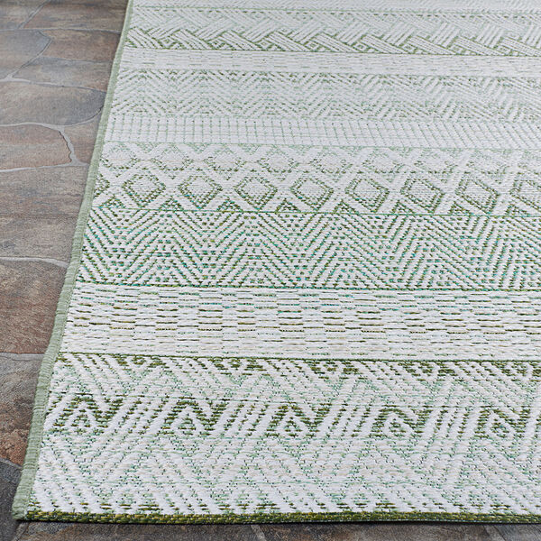 Cape Gables Palm Rectangular: 3 Ft. 11 In. x 5 Ft. 6 In. Indoor/Outdoor Rug, image 4