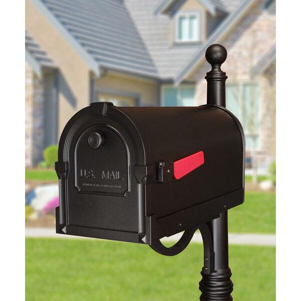 Savannah Black Curbside Mailbox, image 2