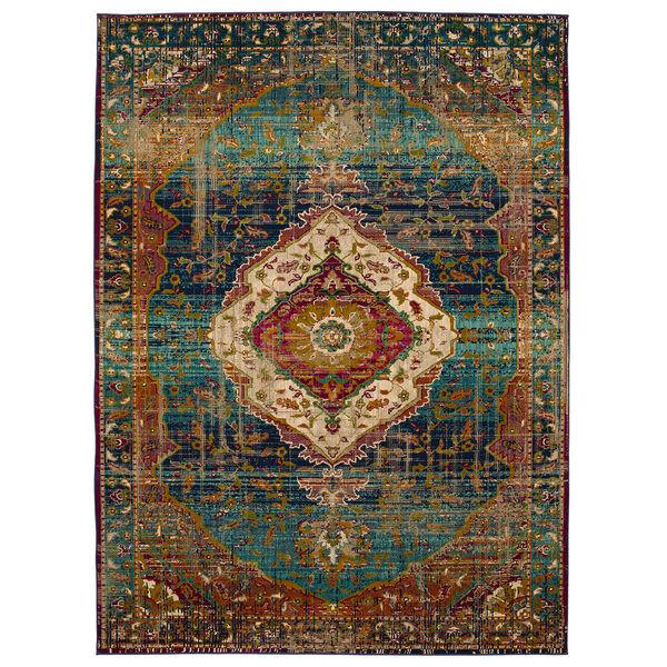 Meraki Peacock Rug, image 1