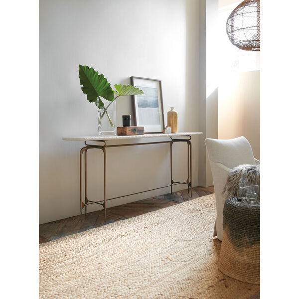 Skinny Metal Console Table, image 2
