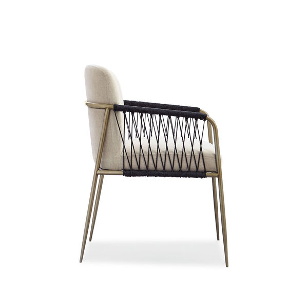 Modern Artisan Remix Beige Arm Chair, image 4