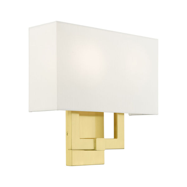 Meridian Satin Brass Two-Light ADA Wall Sconce, image 5