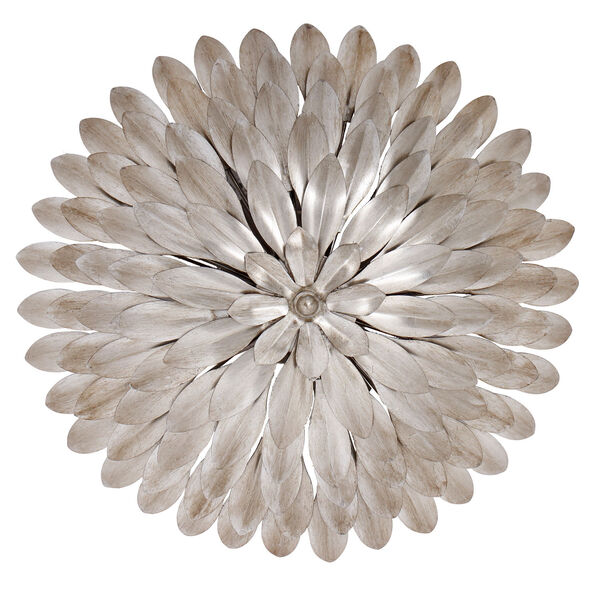 Broche Silver Four-Light Ceiling Mount, image 2